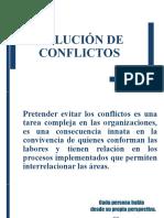 Solucion de conflictos Direccion
