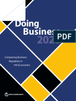 Doing Business 2020 Comparing Business Regulation in 190 Economies