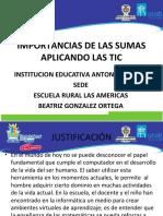 importanciadelassumasaplicandolastic-121217170411-phpapp01