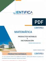 Productos notables-factorización