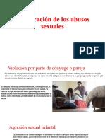 Clasificación de los abusos sexuales