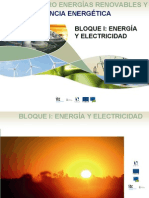 Transparencias de energías renovables y eficiencia energética
