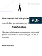 El Nuevo Comando de Acción del Partido Aprista Peruan1