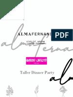 Taller Dinner Party Querida Agenda