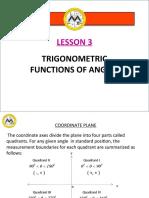 Math12-1_Lesson 3_Trigonometric Functions of Angles