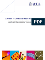 Guide to Defective Medicinal Products
