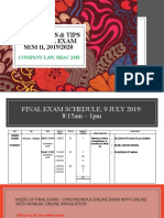 GUIDELINES & TIPS FOR FINAL EXAM Sem II.pptx