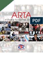ARTA A Decade of Improving Public Service Delivery