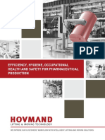 Hovmand_efficiency, hygiene, occupational health and safety for pharmaceutical production