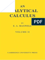 An Analytical Calculus Volume 2 for School and University by E. a. Maxwell (Z-lib.org)