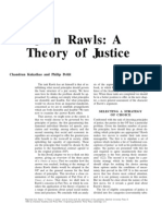 John Rawls a Theory of Justice