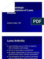 Andrea Gaito - Rheum a to Logic Manifestations of Lyme Disease