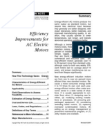 Inceasing Eff AC MOTORS