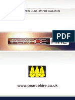 Pearce Hire - Hire Brochure