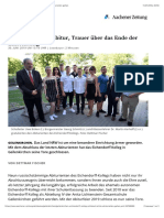 Geilenkirchen Eichendorff-Kolleg schließt, letzte Abiturienten gehen