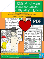 Cat Hat Green Eggs Guided Reading