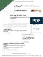 Didacticiel - Configuration initiale du routeur MikroTik [étape par étape]