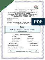PFE (Etude d'une Machine à Réluctance Variable Supraconductrice).pdf