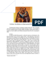 Cuvânt Pr. Dan Bădulescu la praznicul Sf. Petru Si Pavel