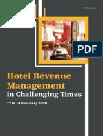 HotelRevenuManagementinChallengingTimesBrochure