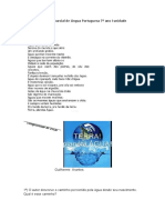 avaliação parcial de língua portuguesa 7º ano I unidade 2015