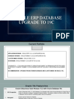 Oracle ERP Database Upgrade to 19c- Benefits