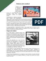 Historia del voleibol FIORELLA