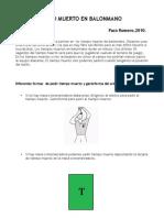 El Tiempo Muerto en pdf