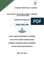 IMPLEMENTACIÓN DE UNA RED LAN