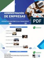 MATEMÁTICAS FINANCIERAS. UNIDAD 1- AROCHA.pptx
