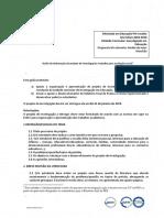 GUIÃO - Projeto de investigação 2018-2019
