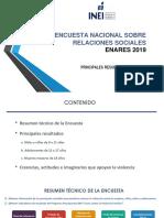 INEI Presentacion Enares 2019