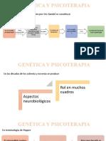 GENÉTICA Y PSICOTERAPIA