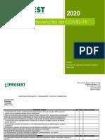 Check list covid 19 POSTOS DE COMBUSTÍVEIS
