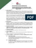TERMINOS DE REFERENCIA - ASISTENTE ADMINISTRATIVO