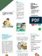 folleto de EDA