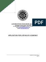 Application Listing Company