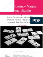 Test Domino- Naipes Generalizado.