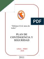 PLAN DE CONTINGENCIA - CENTRO DE LA MODA.doc