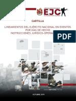 Cartilla Manejo Protesta Social EJC - 2019