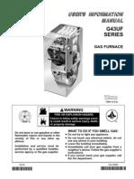 Lennox G43 Manual