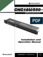 CHC-16U550 inst