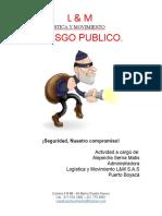 CHARLA RIESGO PUBLICO
