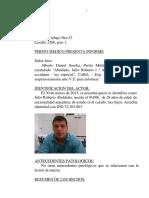 Abeldaño INFORME