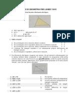 Scheda 1 Triangoli