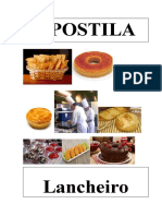 Apostila RECEITAS PARA LANCHONETES
