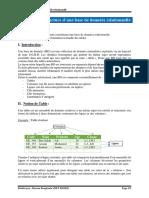 Chapitre 2 - Structure dune base de données relationnelle