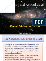 The Continous Spectrum of Light