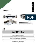 USO E MANUTENZIONE - FZ ZERO 2016