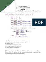 CodeBasedTesting_LectureActivity